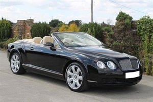 2007 BENTLEY CONTINENTAL GTC For Sale by Auction