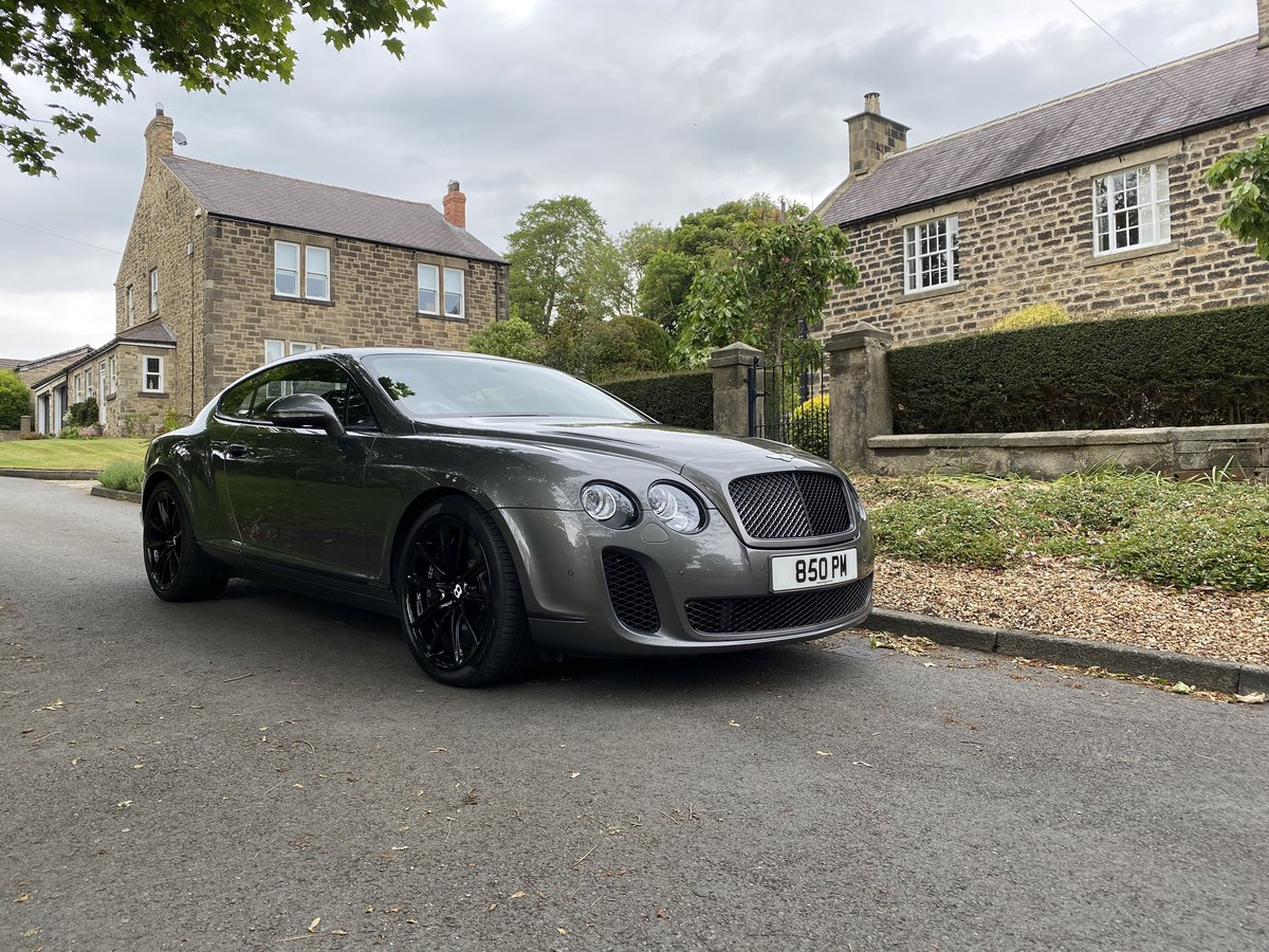2010 Bentley Continental GT 6.0 Supersports For Sale (picture 1 of 6)