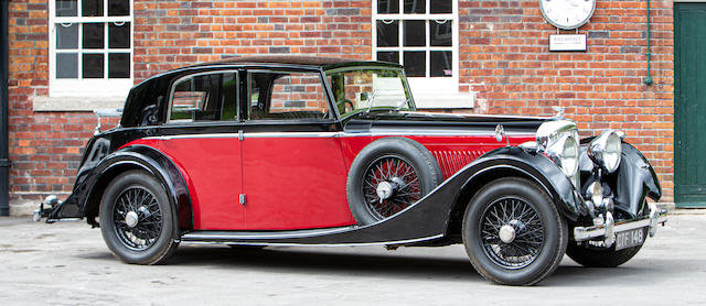 1938 Bentley 4 ¼-litre