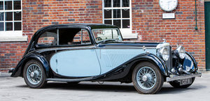 1936 Bentley 3 ½-litre Barker two-door sports saloon