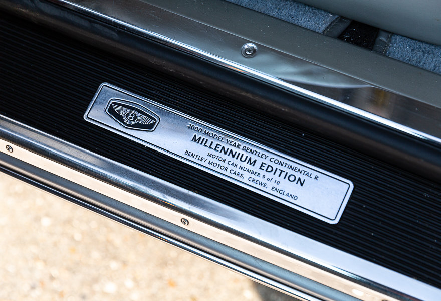 """2000 Bentley Continental R Mulliner """"Millennium"""" Edition (LHD) For Sale (picture 9 of 24)"""
