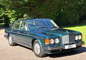 BENTLEY TURBO R MKIII           dealer history from new