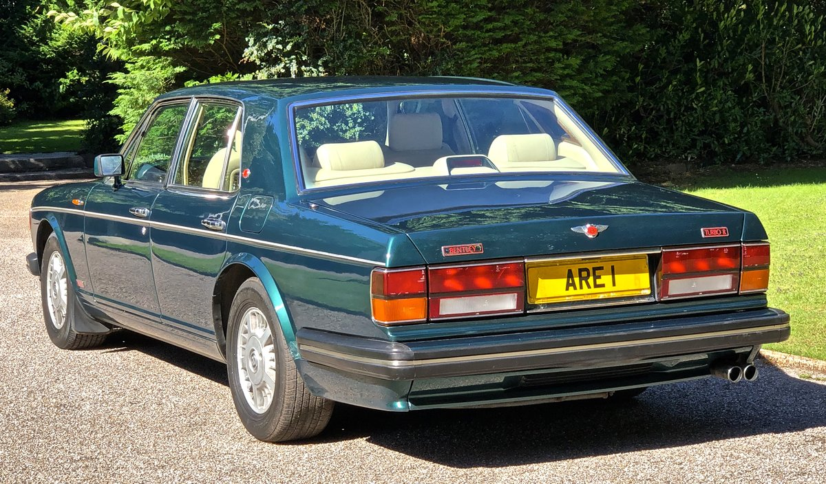 1994 BENTLEY TURBO R MKIII           dealer history from new For Sale (picture 3 of 6)