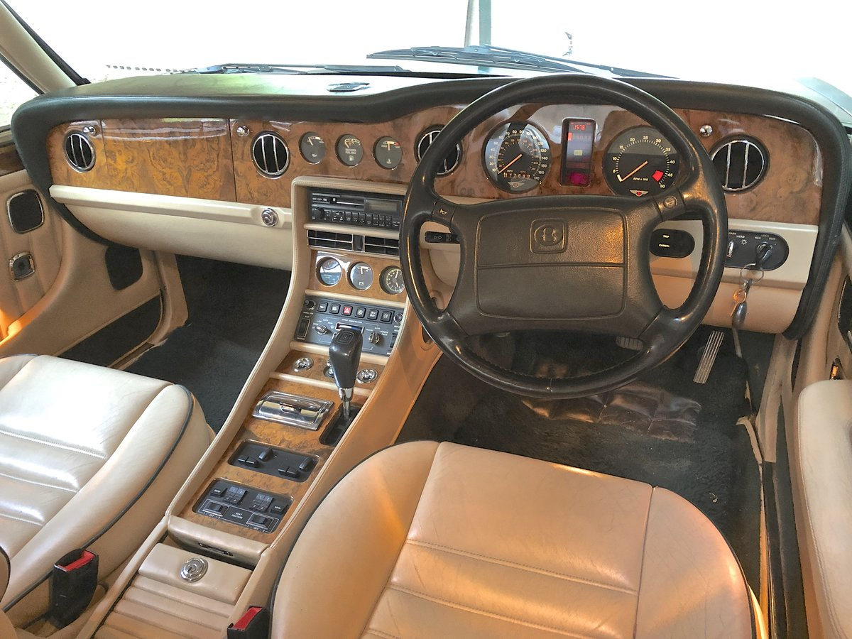 1994 BENTLEY TURBO R MKIII           dealer history from new For Sale (picture 4 of 6)