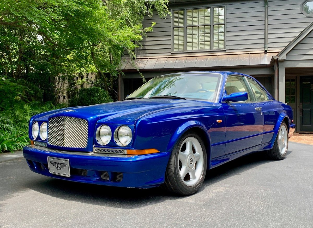 1998 Bentley Continental T Mulliner Park Ward For Sale (picture 1 of 6)