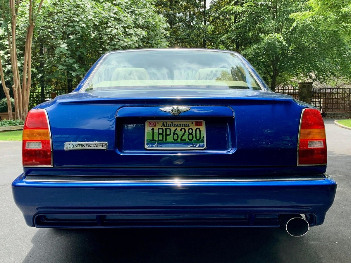 1998 Bentley Continental T Mulliner Park Ward For Sale (picture 5 of 6)