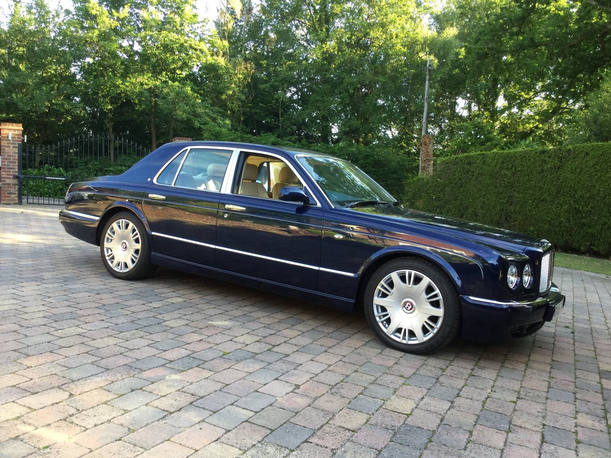 2005 Bentley Arnage R Peacock Blue, REDUCED For Sale (picture 1 of 6)