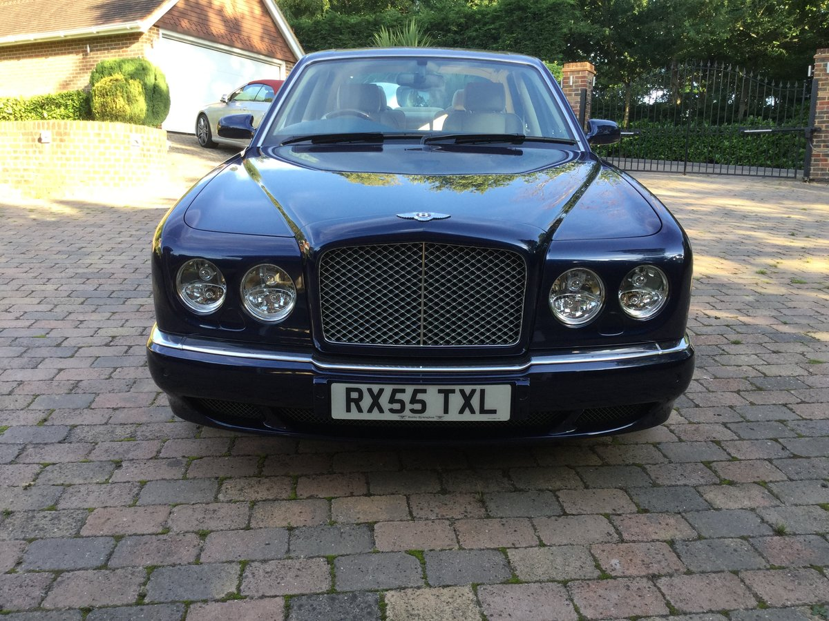 2005 Bentley Arnage R Peacock Blue, REDUCED For Sale (picture 2 of 6)