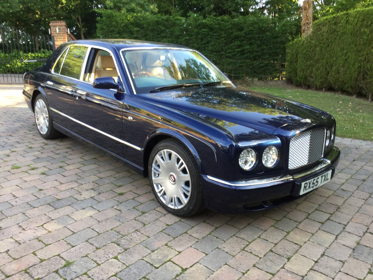 2005 Bentley Arnage R Peacock Blue, REDUCED For Sale (picture 4 of 6)