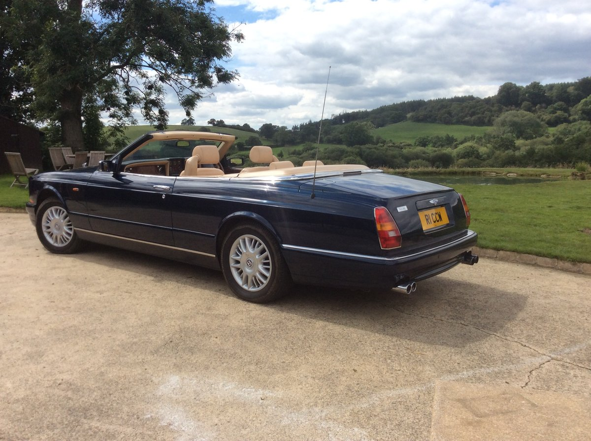 1999 Peacock blue Bentley Azure For Sale (picture 2 of 6)