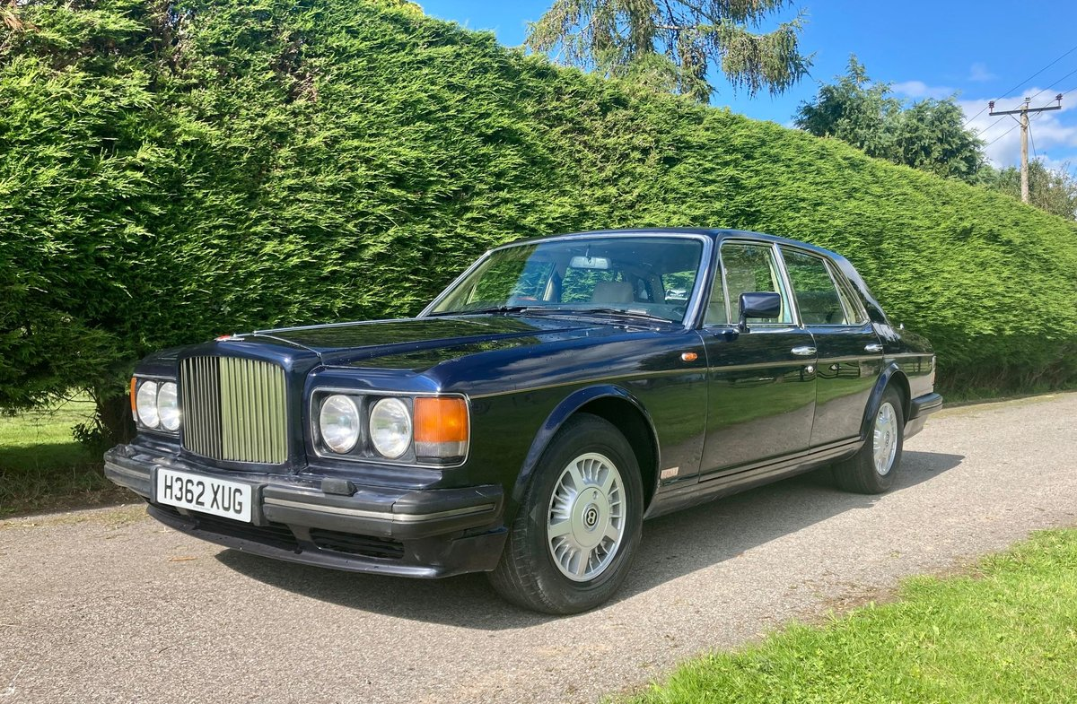 1990 Bentley Turbo R For Sale by Auction (picture 1 of 5)