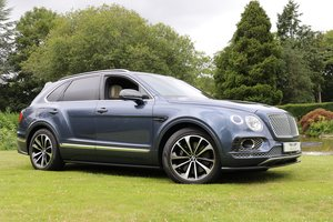 2017 BENTLEY BENTAYGA W12 MULLINER FULL BENTLEY CARBON KIT
