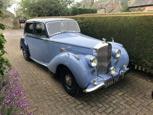 Bentley Mk 6 Sports Saloon. Renovated. For Exc or