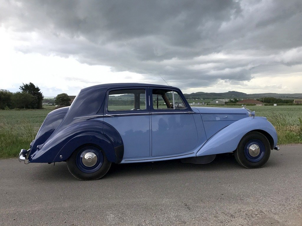 1949 Bentley Mk 6 Sports Saloon. Renovated. For Exc or For Sale (picture 5 of 6)