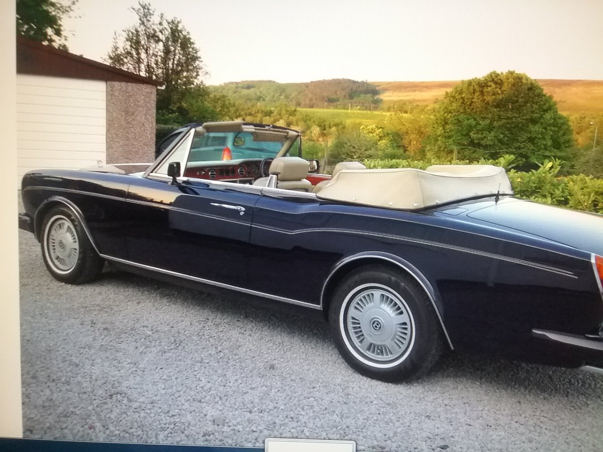 1985 Bentley continental convertible For Sale (picture 1 of 6)