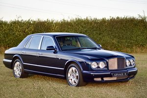 Bentley Arnage R 2008  - Blue - 1,600 miles
