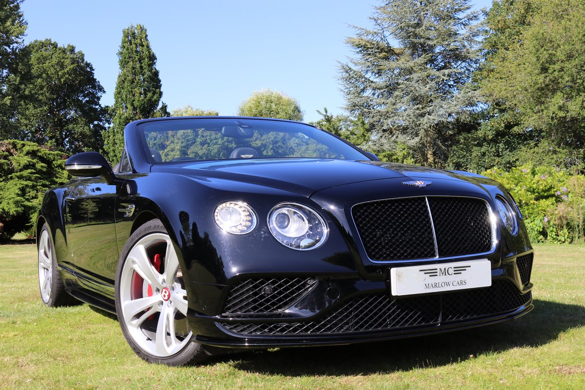 2017 BENTLEY GTC V8S For Sale (picture 1 of 6)