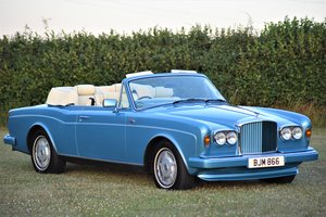 Bentley Continental Drop Head Coupe. – 1990 - 30,576 miles
