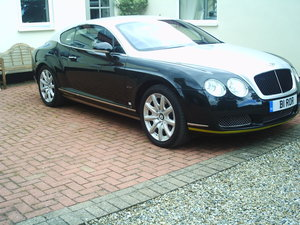 2004 Bentley conti gt breitling jet team series tribute