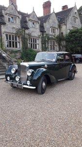 1952 Bentley 4.5 litre Mk v1