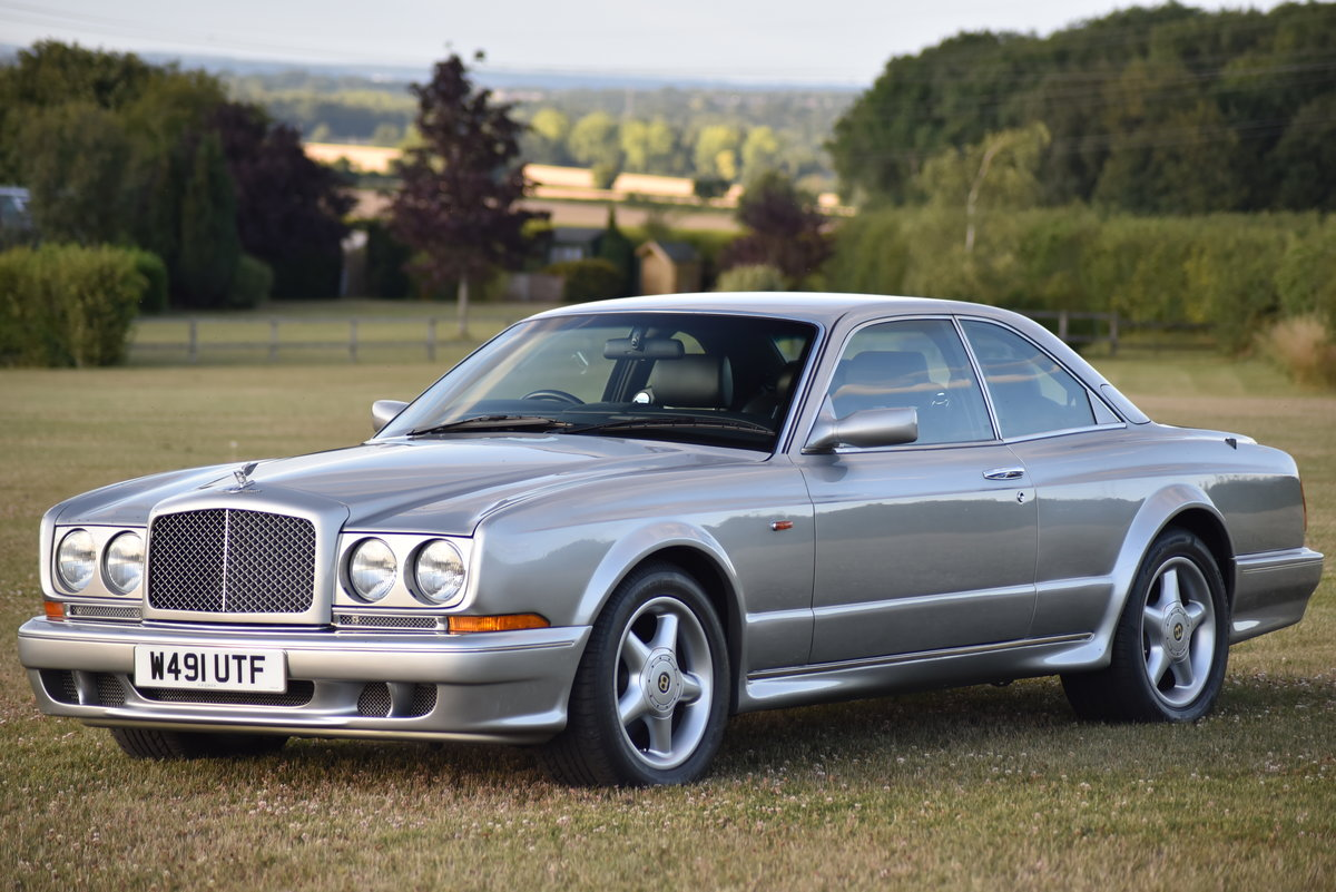 2000 Bentley Continental T - Silver Pearl - 28,000 miles - 420 HP For Sale (picture 1 of 6)