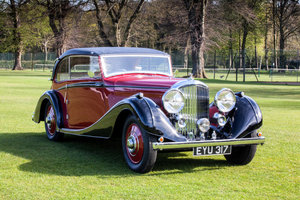 1938 Bentley 4 1/4 Litre Sports Coupe by Vanden Plas For Sale