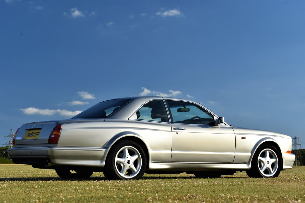2000 Bentley Continental T - Silver Pearl - 28,000 miles - 420 HP For Sale (picture 2 of 6)
