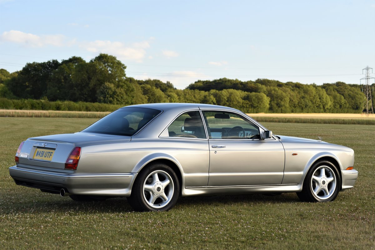 2000 Bentley Continental T - Silver Pearl - 28,000 miles - 420 HP For Sale (picture 3 of 6)