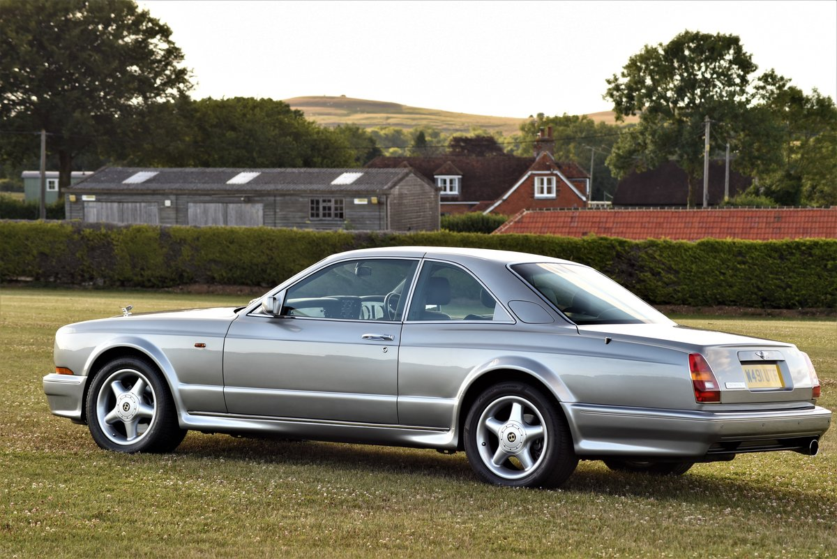 2000 Bentley Continental T - Silver Pearl - 28,000 miles - 420 HP For Sale (picture 4 of 6)