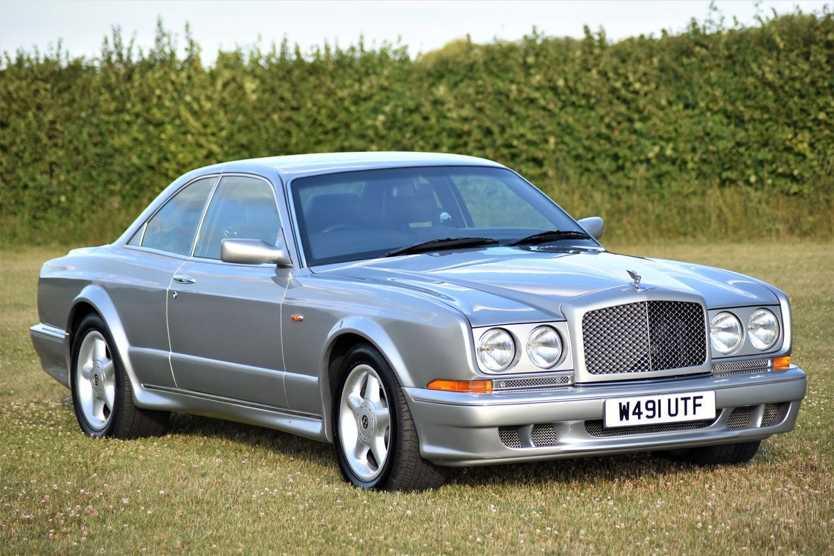 2000 Bentley Continental T - Silver Pearl - 28,000 miles - 420 HP For Sale (picture 5 of 6)