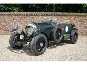Bentley Le Mans 4 1/2 litre Special Dutch papers/registratio