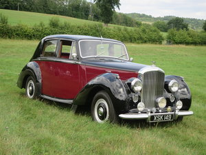 1955 Bentley R Type Sports Saloon