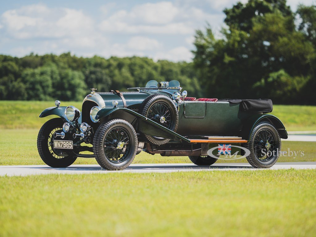 1924 Bentley 3-4-Litre Four-Seater by Vanden Plas For Sale by Auction (picture 1 of 6)