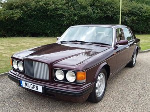 1995 Bentley Brooklands Turbo R at ACA 22nd August