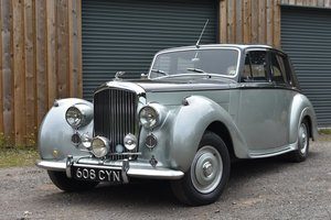 Lot 6 - 1955 Bentley R-Type Standard Saloon - 29/07/20
