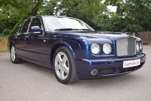 2005 Bentley Arnage T Mulliner in Peacock Blue