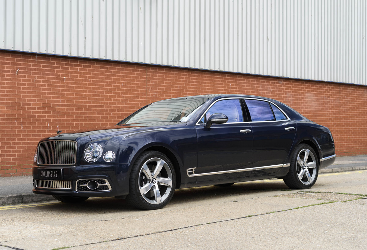 2018 Bentley Mulsanne Speed (RHD) For Sale (picture 1 of 24)