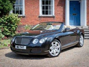 2007 Bentley GTC Mulliner spec