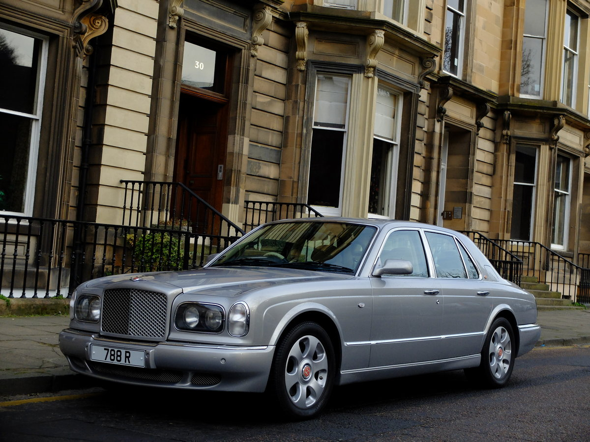 2000 BENTLEY ARNAGE RED LABEL - JUST 35K MILES - STUNNING ! W Reg For Sale (picture 1 of 6)