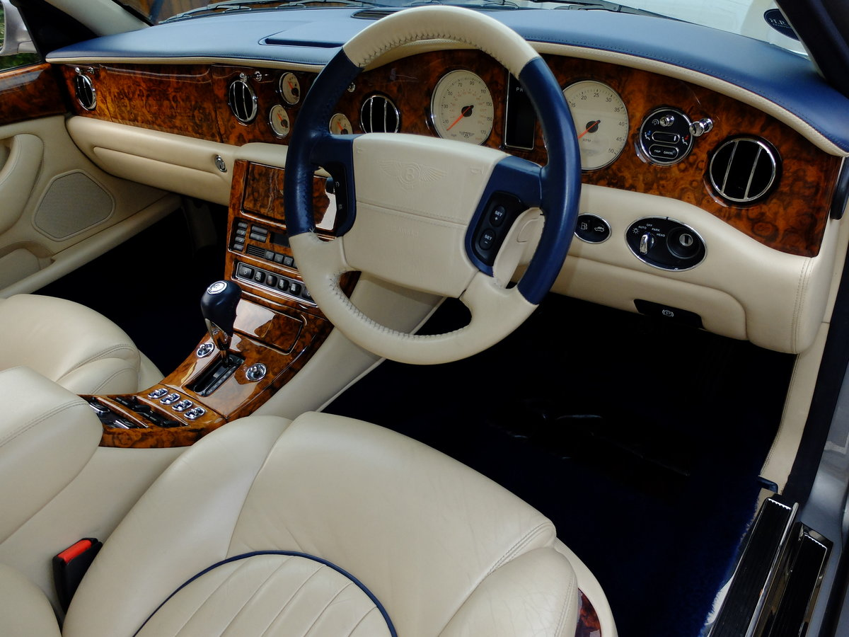 2000 BENTLEY ARNAGE RED LABEL - JUST 35K MILES - STUNNING ! W Reg For Sale (picture 5 of 6)