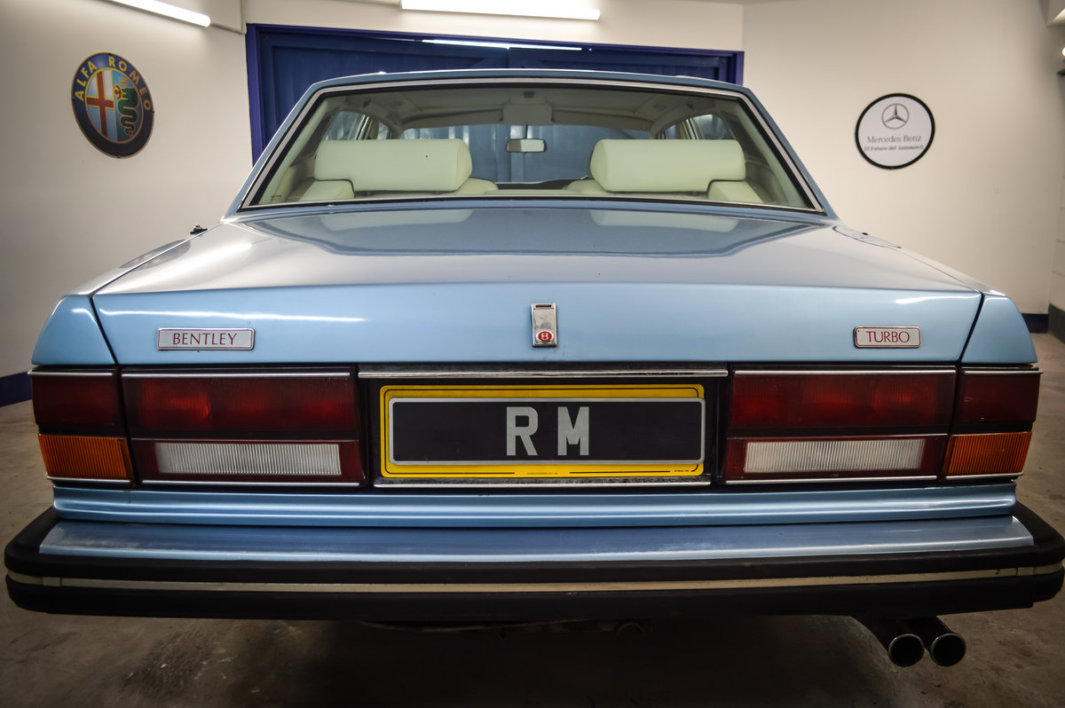 1986 Bentley Turbo  SOLD (picture 3 of 6)