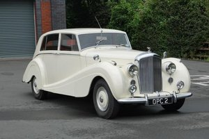 1950 Bentley MkVI Mulliner Sports Saloon