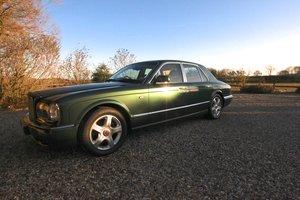2001 Green Bentley Arnage Red Label