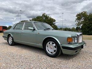1996 Bentley turbo r in rare aurora green with full mot