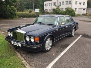 Brooklands Bentley only 42000 Miles 31st Dec 1994