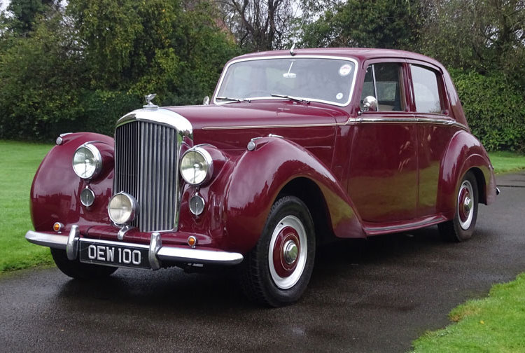 1955 Bentley R Type Automatic Saloon. B188ZY For Sale (picture 1 of 6)