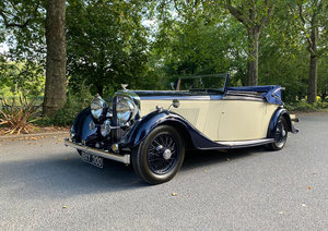 1935 Bentley 3 1/2 litre Drophead Coupé Thrupp & Maberly For Sale