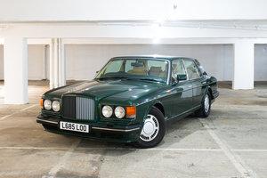 1993 Bentley Turbo R, Balmoral Green over Magnolia