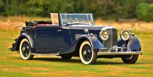 1937 Derby Bentley 4.25 Litre Park Ward Drophead Coupe. For Sale