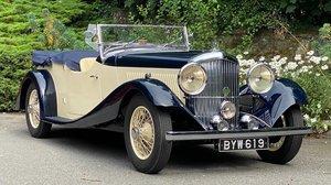 Picture of 1935 Bentley 3½ Litre VdP style 'cutaway door' Tourer B91EJ For Sale
